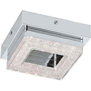 Ceiling Spotlight A LED 4W Chrome With Crystal Coll. Glo 95655 Fradelo