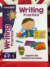 Gold Stars Writing Practice for Ages 6-7 Key Stage 1. (Paperback, 2017) New Book