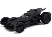 """1/24 Jada DC Comics Metals Batman V Superman 8"""" Batmobile Model Kit 97781 Black"""
