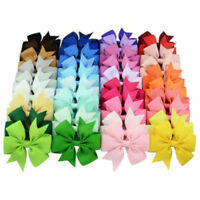 20Pcs Kids Baby Girls Children Toddler Flowers Hair Clip Bow Accessorie n~