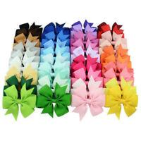 20Pcs Kids Baby Girls Children Toddler Flowers Hair Clip Bow AccessoriePwr