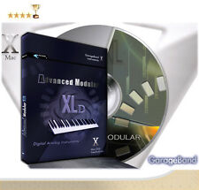 Analog XLD synths for Logic Pro, Kontakt, Garageband, Motu - CD on DVD PC Mac