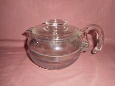 Vintage PYREX Flameware Glass Teapot Tea Pot 6 cup Coffee Pot - 8446 B