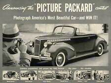 ADVERT CAR AUTOMOBILE 1940 CLASSIC PACKARD PICTURE ART PRINT POSTER BB6640