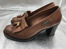 Russell & Bromley Patternless Round Toe Flats for Women