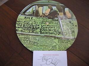 Vinyl Record CLOCK Wall Rock lp Cheech & Chong Los Cochinos Marijuana Art Retro