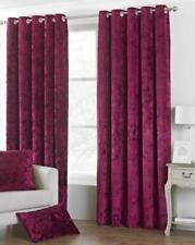 Paoletti Richmond Eyelet Room Darkening Curtains Pair 229cm x 137cm WINE PURPLE