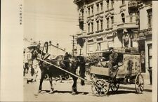Russia St. Petersburg? - Russian Wagon - Chinese Photo Paper Shanghai? RPPC