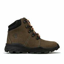 Infant Boys Timberland Brooklyn Hiker Boots In Khaki- Premium Nubuck Leather