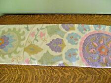 Pottery Barn Aran Embroidered Lumbar Pillow Cover ~ NEW
