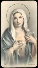 """santino-holy card""""""""ediz. NB  n.8009 S.CUORE DI MARIA"""