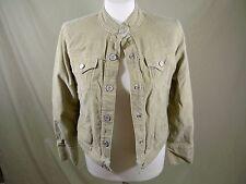 Gap Corduroy Jacket Stretch Tan Blazer Women's Size XS