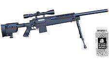 Airsoft sniper airsoft bolt action Sniper Rifle 450fps+Bipod+Scope+2k Bulldog bb