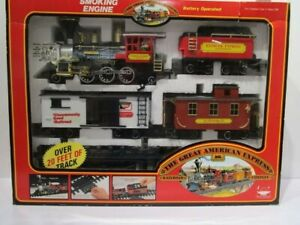 1989  Bright Great American Express Battery Operated Train,Keebler Express 185