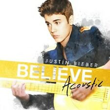 JUSTIN BIEBER - BELIEVE ACOUSTIC  CD  11 TRACKS INTERNATIONAL POP  NEU