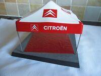 RARE 1/43 CITROEN WRC SERVICE AREA DIORAMA TENT Rally Motorsport