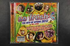 So Fresh- The Hits Of Spring 2012 CD +DVD (C438)
