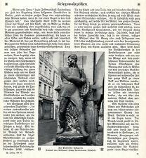 Bielefelder Feldgraue Eiserne U-Boot Hörnum Eiserner Michael Hamburg von 1915