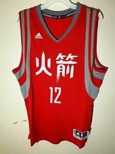 ADIDAS NBA HOUSTON ROCKETS DWIGHT HOWARD SWINGMAN JERSEY CHINESE RED SIZE L