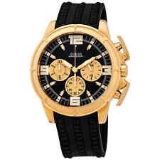 Guess Apollo Black Dial Men's Chronograph Watch W1115G1