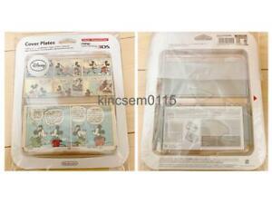 New Nintendo 3DS Kisekae Cover Plates 075 3D Disney Mickey Mario Pokemon Zelda