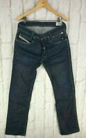 Mens Diesel Paddom 0088Z Blue Jeans Straight Leg Regular Fit Button Fly W32 L32
