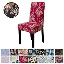 Universal Vintage Stretch Chair Covers Dining Room Wedding Banquet Seat Cover