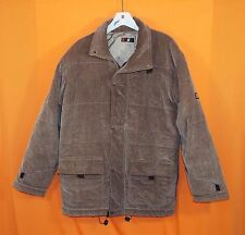 """Fabulous Men's Corduroy Jacket by KIKO """"Style"""" – Lined and Insulated - Brown - M"""