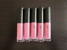 bare Minerals * MARVELOUS MOXIE LIPGLOSS - Rebel * Deluxe Sample x5 Lot ~ NEW ~