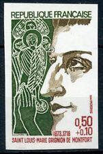 TIMBRE FRANCE NEUF N° 1784 ** NON DENTELE / MNH / GRIGNON DE MONTFORT COTE 35 €