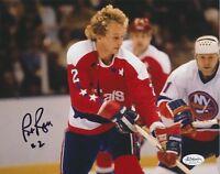 Pat Ribble Autographed Signed Washington Capitals 8x10 Photo (JSA)