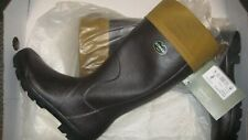 Le Chameau Anjou Boot with Filson Tin Cloth, Size 10M, NIB!