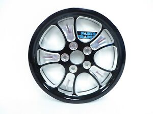 NOS Genuine Yamaha Billet Black Rear Drive Pulley Road Star Midnight Silverado