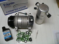 Frigette A/C AC Compressor Kit for 1998-2004 Chevy S10 GMC Sonoma (4.3L only)