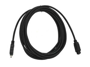 15Ft. IEEE 1394b Firewire 800 Hi-Speed Cable 9Pin to 4Pin Black IE9494-15