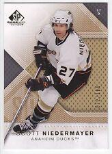 Scott Niedermayer , 2007-08 , SP Game Used Gold , #100 , 072/100