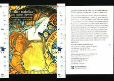 MAIOLICA ITALIANA -FITZWILLIAM MUSEUM - CAMBRIDGE - JULIA E.POOLE - 29800