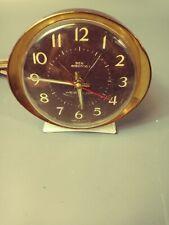 L👀K Vintage Mid Century Westclox Big Ben Electric Alarm Clock Works!