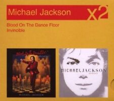 MICHAEL JACKSON : BLOOD ON THE DANCEFLOOR/INVINCIBLE - NEW  (U)  {CD}