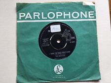 """BEATLES  """" I WANT TO HOLD YOUR HAND """" ORIG UK 7"""" RARER ORIOLE CONTRACT 1N/1N"""