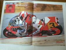 A436-EDDIE LAWSON WORLDCHAMPION 1988 YAMAHA NO 3 MOTO GP POSTER MARLBORO,SHOEI