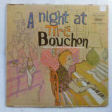 A night at Tiré bouchon JACQUES DESTA JANINE ALAIN MO?IQUE GERARD JEAN BERTOLA