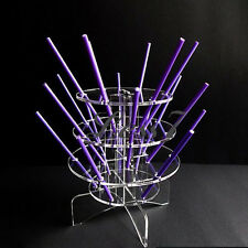 3-Tier 18-Hole Acrylic Cake Pop Lollipop Lollypop Cupcakes Display Stand Holde ゃ