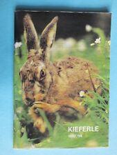 alt Kieferle 1993 / 94   Jagd Waffen Katalog 108 Seiten
