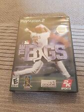 The Bigs Brand New Factory Sealed  Sony PlayStation 2 Ps2 Y Fold Rare
