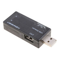 LCD USB Voltmeter Ammeter Power Capacity Tester Voltage Current Meter