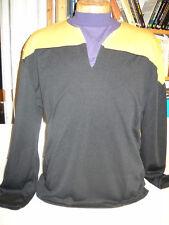 Star Trek DSnine / Voyager - Uniform Shirt gelb Größe L ( Filmwelt ) Synthetic