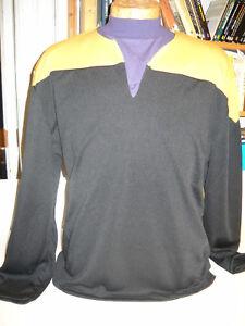 Star Trek DSnine / Voyager - Uniform Shirt gelb Größe S ( Filmwelt ) Synthetic