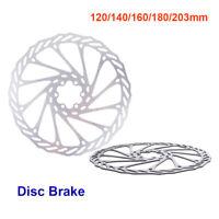 Bicycle Bike MTB Cycling Brake Disc Rotor 120mm140mm/160mm/180mm/203mm 6Bolt