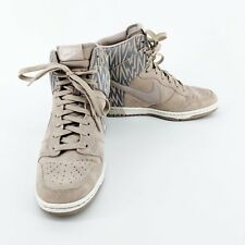 Nike Dunk Sky Hi Women's Wedge Sneakers Shoes 543258-003 Orewood Brown Size 9 US